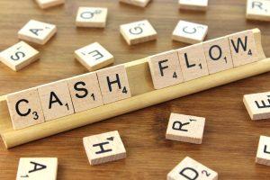 scrabble with cash flow word